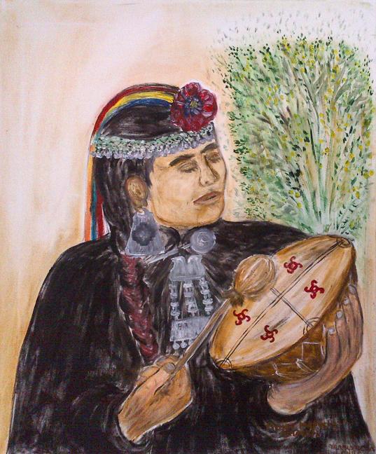 Machi: Mujer Mapuche